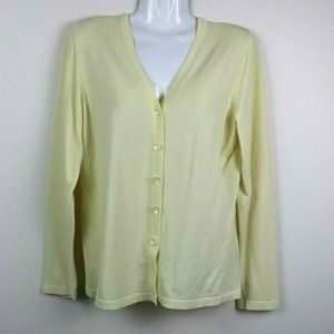 Banana Republic Long Sleeves Button Up Sweater